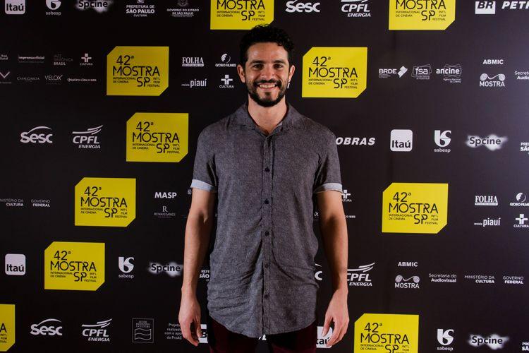 42ª Mostra Internacional de Cinema/São Paulo Int`l Film Festival - Vinícius de Oliveira, ator de Central do Brasil