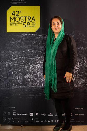 42ª Mostra Internacional de Cinema/Sãoo Paulo Int`l Film Festival -  Tahereh Saeidi Balsini, esposa de Jafar Panahi