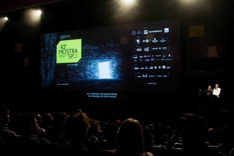 Auditorio Ibirapuera/ 42ª Mostra Internacional de Cinema/São Paulo Int`l Film Festival - Cerimônia de Premiação e Encerramento