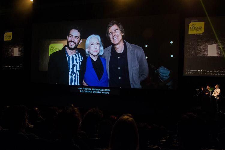 Auditorio Ibirapuera/ 42ª Mostra Internacional de Cinema/São Paulo Int`l Film Festival - Cerimônia de Premiação e Encerramento - Na tela: 20 anos do filme Central do Brasil