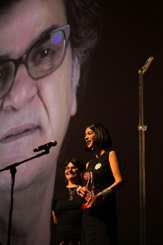 Auditorio Ibirapuera/ 42ª Mostra Internacional de Cinema/São Paulo Int`l Film Festival - Cerimônia de Premiação e Encerramento - Solmaz Panahi, filha de Jafar Panahi