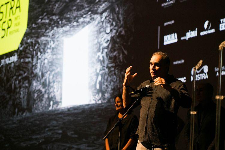 Auditório Ibirapuera/42ª Mostra Internacional de Cinema/São Paulo Int`l Film Festival - Cerimônia de Premiação e Encerramento  - Sergio Machado, membro do Juri Internacional