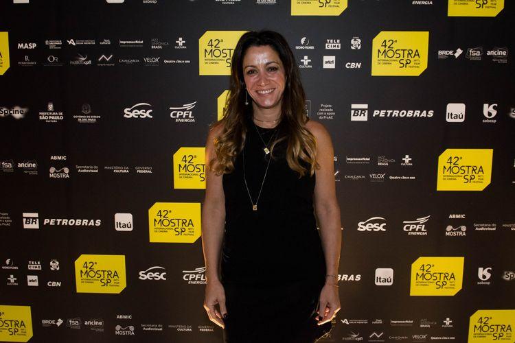 42ª Mostra Internacional de Cinema/São Paulo Int`l Film Festival - Cerimônia de Premiação e Encerramento - Joana Mariani, diretora do filme Todas as Canções de Amor