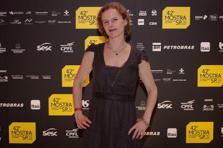 42ª Mostra Internacional de Cinema/São Paulo Int`l Film Festival - Cerimônia de Premiação e Encerramento - Astrid Adverb, membro do júri