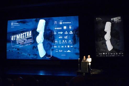 18/OUT – Cerimônia de Abertura da 41ª Mostra | Auditório Ibirapuera – Osc...