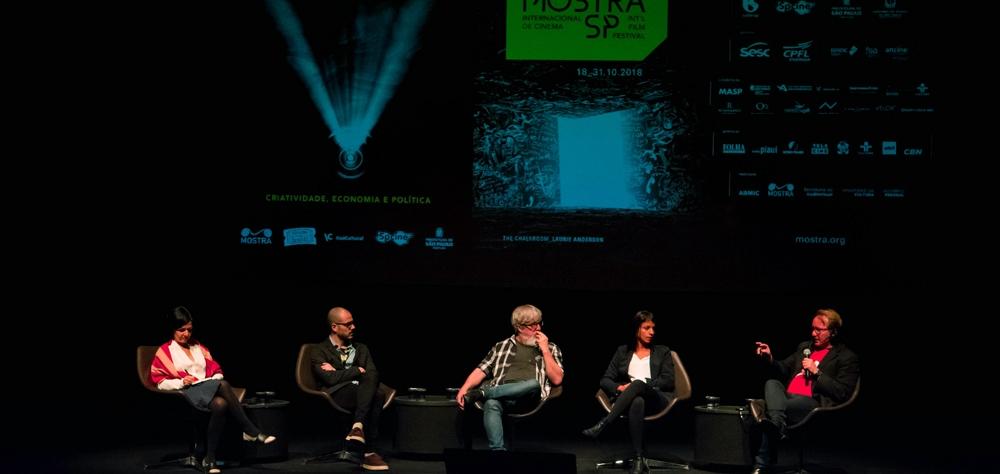 Diálogo sobre mescla de linguagens abre II Fórum da 42ª Mostra de Cinema Internacional